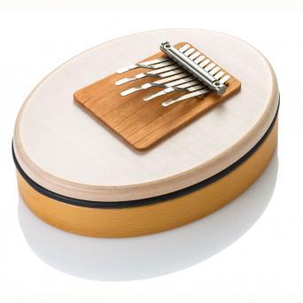 petit instrument blanc et marron clair