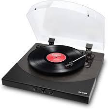 platine vinyle noire ION