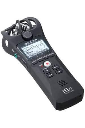 Enregistreur noir avec écran numérique