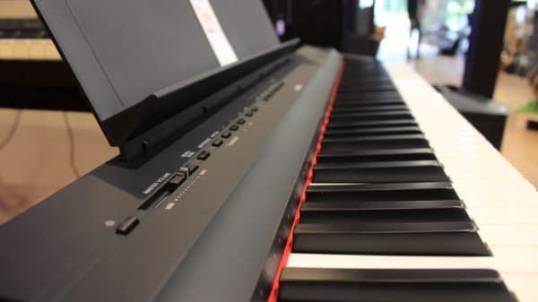touches de piano numériques