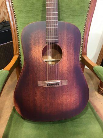 guitare acoustique marron