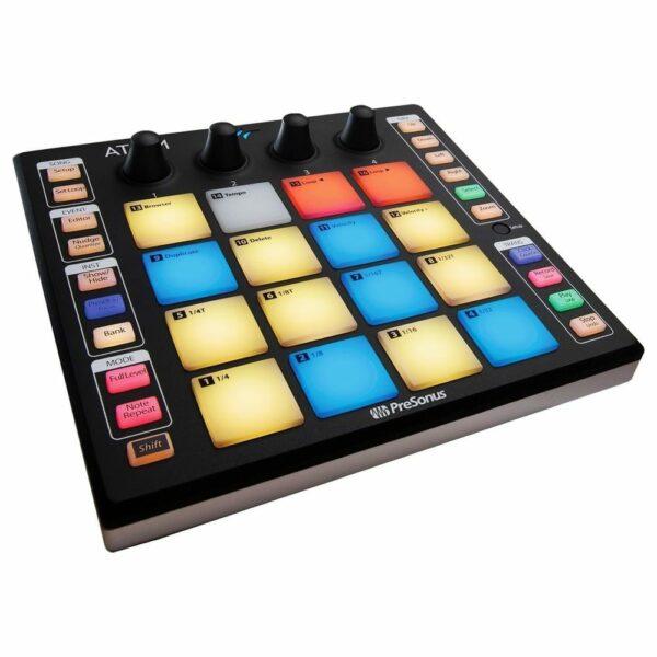 Contrôleur avec pad touches colorés
