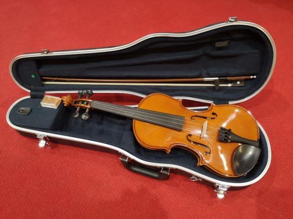violon dans étui