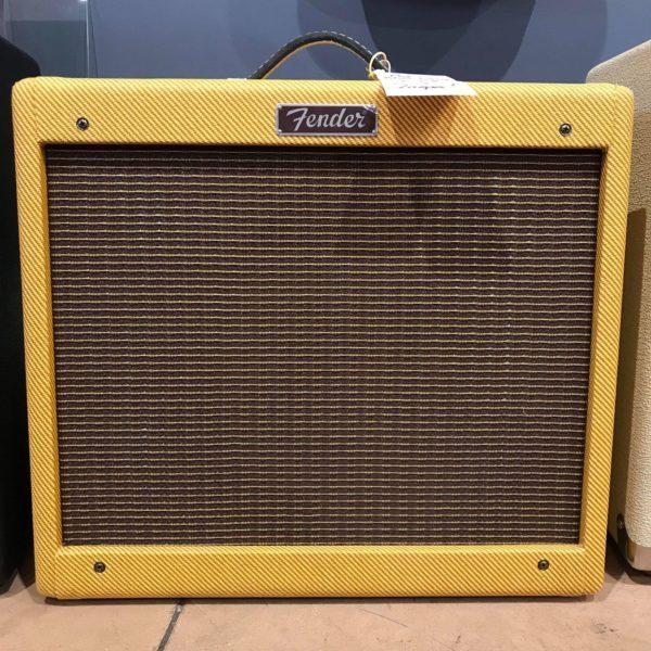 ampli vintage jaune