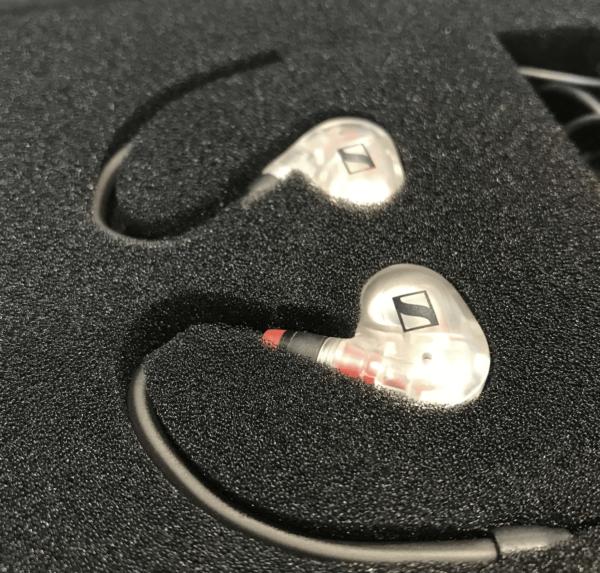 écouteurs retour transparent