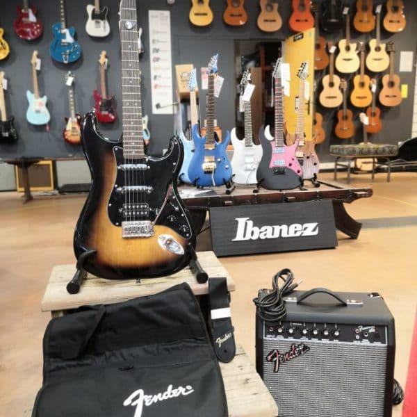 guitare housse ampli